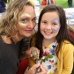 Professional makeup artist Gemma O'Brien face-painting Beatrix Gordon, 8, at the Coln St Aldwyns Fete and Produce Show